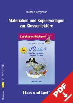 Begleitmaterial: Ätze – Das Tintenmonster bei den Piraten / Silbenhilfe von Bergmann,  Michaela