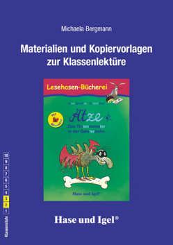 Begleitmaterial: Ätze – Das Tintenmonster in der Geisterbahn / Silbenhilfe von Bergmann,  Michaela, Dietl,  Erhard