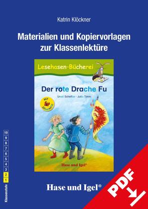 Begleitmaterial: Der rote Drache Fu / Silbenhilfe von Klöckner,  Katrin