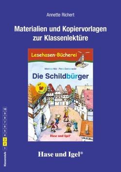 Begleitmaterial: Die Schildbürger / Silbenhilfe von Richert,  Annette