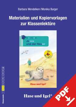 Begleitmaterial: Jonas und der Heuler / Silbenhilfe von Burger,  Monika, Wendelken,  Barbara