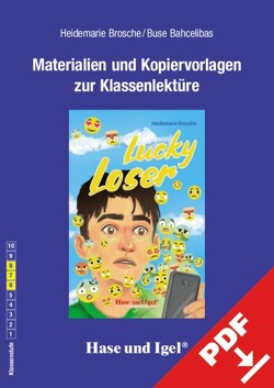 Begleitmaterial: Lucky Loser von Bahcelibas,  Buse, Brosche,  Heidemarie