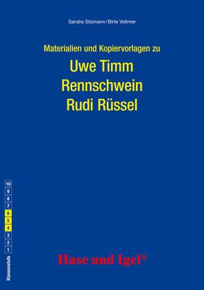 Begleitmaterial: Rennschwein Rudi Rüssel von Sitzmann,  Sandra, Voltmer,  Birte