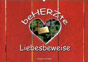 BeHERZte Liebesbeweise 2018 (Wandkalender 2018 DIN A2 quer) von Haafke,  Udo
