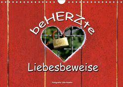 BeHERZte Liebesbeweise 2019 (Wandkalender 2019 DIN A4 quer) von Haafke,  Udo