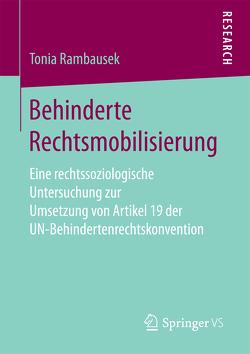 Behinderte Rechtsmobilisierung von Rambausek,  Tonia