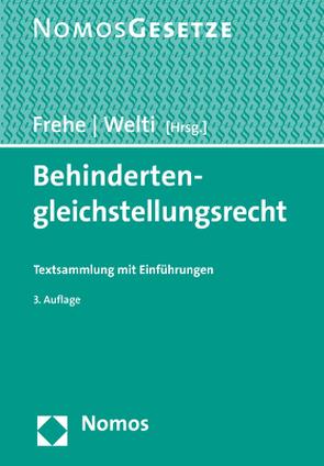 Behindertengleichstellungsrecht von Frehe,  Horst, Welti,  Felix