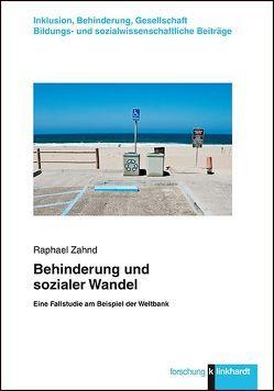 Behinderung und sozialer Wandel von Zahnd,  Raphael