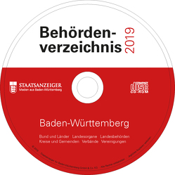 Behördenverzeichnis Baden-Württemberg 2019