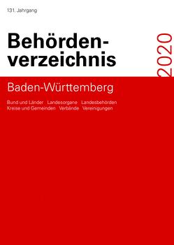 Behördenverzeichnis Baden-Württemberg 2020