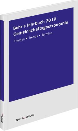 Behr´s Jahrbuch für die Gemeinschaftsgastronomie 2019