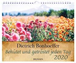 Behütet und getröstet jeden Tag 2020 von Bonhoeffer,  Dietrich
