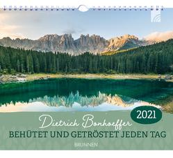 Behütet und getröstet jeden Tag 2021 von Bonhoeffer,  Dietrich