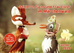 Bei Herrn Fuchs und Frau Elster im Märchenwald 2020