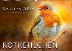 Bei uns im Garten – Rotkehlchen (Wandkalender 2019 DIN A2 quer) von Roder,  Peter