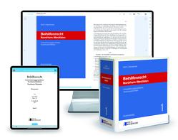 Beihilfenrecht Nordrhein-Westfalen – Print + Digital von Mohr,  Karl-Heinz, Sabolewski,  Horst