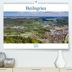 Beilngries von oben (Premium, hochwertiger DIN A2 Wandkalender 2020, Kunstdruck in Hochglanz) von Portenhauser,  Ralph
