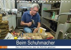 Beim Schuhmacher (Tischkalender 2018 DIN A5 quer) von Jordan,  Andreas