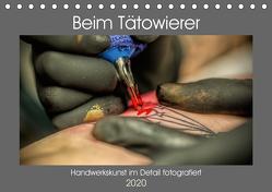 Beim Tätowierer (Tischkalender 2020 DIN A5 quer) von Siebauer,  Sven