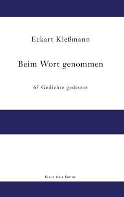 Beim Wort genommen von Kleßmann,  Eckart