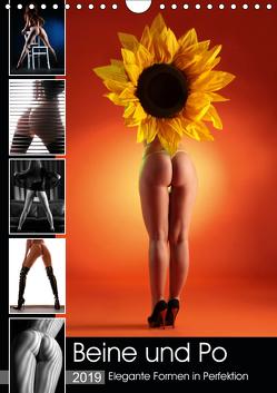 Beine und Po – Elegante Formen in Perfektion (Wandkalender 2019 DIN A4 hoch) von Weis,  Stefan