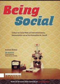 Being Social von Breitner,  Anneliese, Gattereder,  Michael, Giesswein,  Martin-Hannes