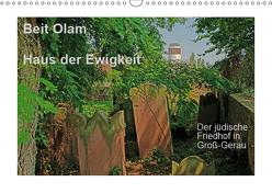 Beit Olam – Haus der Ewigkeit. Der jüdische Friedhof in Groß-Gerau (Wandkalender 2019 DIN A3 quer) von Vorndran,  Hans-Georg