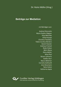 Beiträge zur Mediation von Möhn,  Heinz