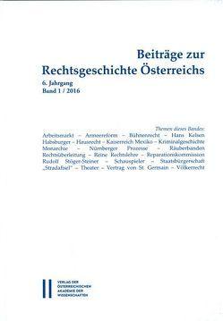 Beiträge zur Rechtsgeschichte Österreichs von Olechowski,  Thomas