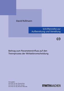 Beitrag zum Parametereinfluss auf den Trennprozess der Wirbelstromscheidung von Rüßmann,  David