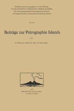 Beiträge zur Petrographie Islands von SCHWANDER, StErn, WENK, Wetzel