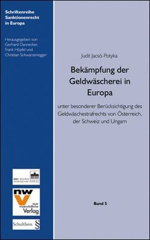 Bekämpfung der Geldwäscherei in Europa von Jacsó-Potyka,  Judit