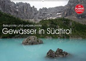 Bekannte und unbekannte Gewässer in Südtirol (Wandkalender 2018 DIN A2 quer) von Niederkofler,  Georg