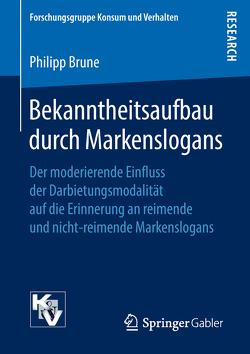 Bekanntheitsaufbau durch Markenslogans von Brune,  Philipp