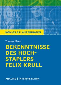 Bekenntnisse des Hochstablers Felix Krull