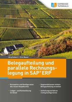 Belegaufteilung und parallele Rechnungslegung in SAP ERP von Bauer,  Eric, Siebert,  Jörg