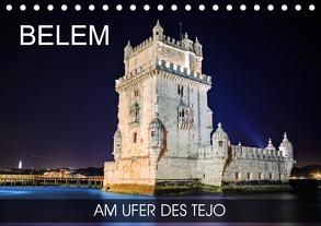 Belem – am Ufer des Tejo (Tischkalender 2020 DIN A5 quer) von Thoermer,  Val