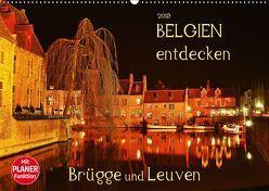Belgien entdecken – Brügge und Leuven (Wandkalender 2019 DIN A2 quer) von Heußlein,  Jutta