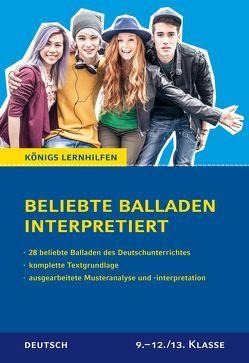 Beliebte Balladen interpretiert. von Keiser,  Wolfhard