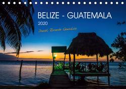 Belize – Guatemala (Tischkalender 2020 DIN A5 quer) von Ricardo González Photography,  Daniel