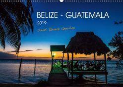 Belize – Guatemala (Wandkalender 2019 DIN A2 quer)
