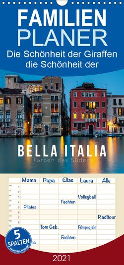 Bella Italia. Farben des Südens – Familienplaner hoch (Wandkalender 2021 , 21 cm x 45 cm, hoch) von Gospodarek,  Mikolaj