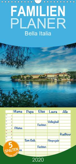 Bella Italia – Impressionen aus der Toskana und Ligurien – Familienplaner hoch (Wandkalender 2020 , 21 cm x 45 cm, hoch) von Wenske,  Steffen