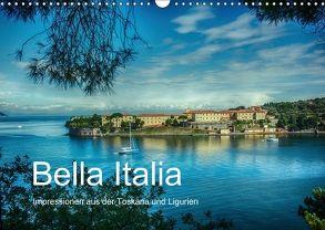 Bella Italia – Impressionen aus der Toskana und Ligurien (Wandkalender 2018 DIN A3 quer) von Wenske,  Steffen