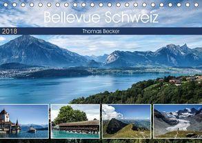 Bellevue Schweiz (Tischkalender 2018 DIN A5 quer) von Becker,  Thomas