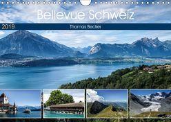 Bellevue Schweiz (Wandkalender 2019 DIN A4 quer) von Becker,  Thomas