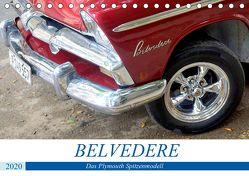 Belvedere – Das Plymouth Spitzenmodell (Tischkalender 2020 DIN A5 quer) von von Loewis of Menar,  Henning