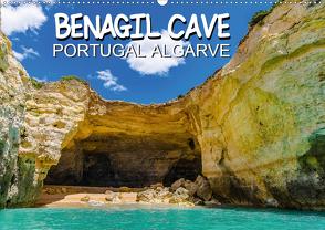 BENAGIL CAVE Portugal Algarve (Wandkalender 2021 DIN A2 quer) von Creutzburg,  Jürgen