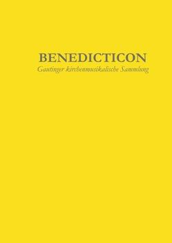 Benedicticon von Probst,  Simon, Schachtner,  Johannes, Schachtner,  Johannes M.