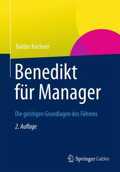 Benedikt für Manager von Kirchner,  Baldur